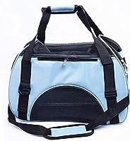Pet Handbag, Travel Transport Shoulder Carrier Bag Portable Foldable Pet Bag Airline Approved for Small Dogs,