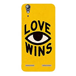 Back cover for Lenovo A6000 Plus Love Wins