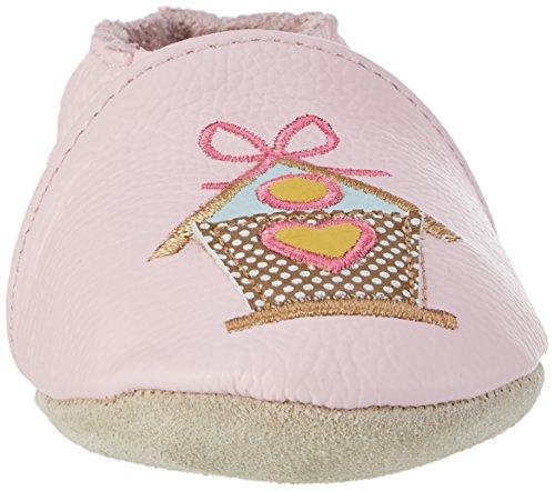 Rose & Chocolat Baby Mädchen Song Bird Lauflernschuhe Pink (Pink)
