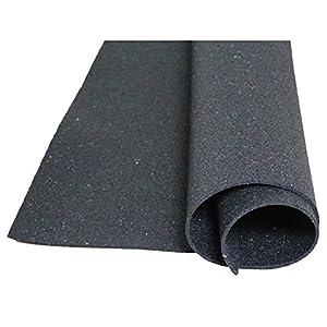 Bautenschutzmatte Gummigranulatmatte 1 m x 5 m, 5mm stark - für alle Böden und viele Anwendungsbereiche