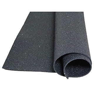 1 M X 1 M Mette Bautenschutzmatte Rubber Granules, 1 cm Strong - for All Floors, Gardens, Stables