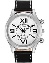 Jainx Fashion White Dial Analog Watch For Men & Boys - JM280