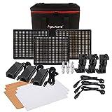 Aputure Amaran 1* H528S + 2* H528W LED Videoleuchte Set CRI95528Licht LED Panel