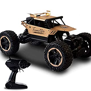 Auto RC Auto 1:18 4WD Hochgeschwindigkeits-Off-Road-Ferngesteuertes Auto 40 km/h 2,4 GHz Funkferngesteuerter Monster Truck Buggy Racing Rock Crawler Geburtstagsgeschenk Geschenk Jahres