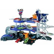Hot Wheels - Parking con ascensor y dos catapultas (Mattel V3260)