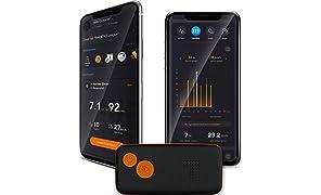 Tracktics NJ-QECE-UYVK Tracciatore di Calcio GPS con Cintura, M (85-100 cm)
