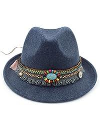 Amazon.es  jazz hat - Azul   Sombreros de cowboy   Sombreros y gorras  Ropa 28499829034