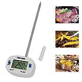 KingProst-Küche BBQ Thermometer Digital Bratenthermometer Fleischthermometer Set FüR Smoker, Grillen, Backen, und Kochen