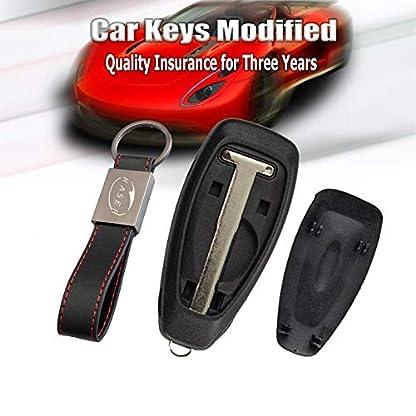 Schlssel-Gehuse-Fernbedienung-fr-Ford-Autoschlssel-Funkschlssel-3-Tasten-fr-Ford-Mondeo-Fiesta-Focus-Kuga-Ecosport-Keyless