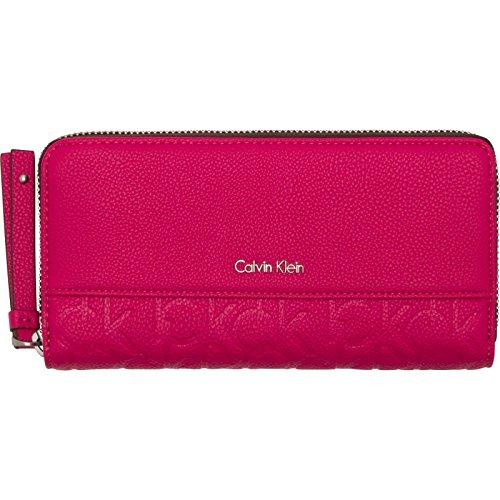 Calvin Klein Jeans - Mish4 Large Ziparound, Portafogli Donna Multicolore