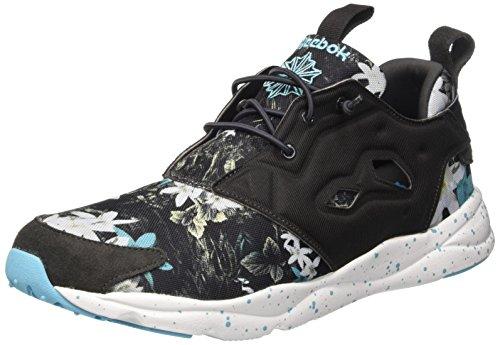 reebok-furylite-np-scarpe-low-top-uomo-multicolore-coal-white-neon-blue-40-1-2-eu