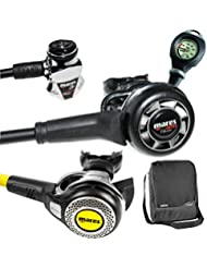 Mares MR22Abyss Classic con Octopus Abyss, Fini y funda
