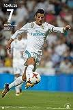 Cristiano Ronaldo Poster Nr. 7 Real Madrid Saison 2017/18 (61cm x 91,5cm)