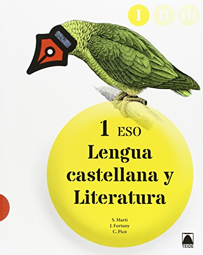 Lengua castellana y literatura 1 ESO (I, II, III) - 9788430790517