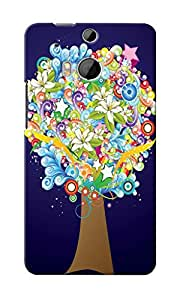 KnapCase Abstract Tree Designer 3D Printed Case Cover For HTC One M8