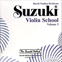 Suzuki Violin School, Vol 3 (Suzuki Method Core Materials)