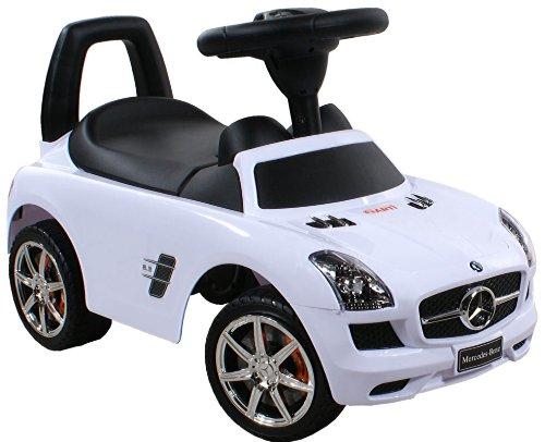 Rutschauto Spielzeugauto ARTI Mercedes SLS AMG 332 White / Weiss Lauflernhilfe Lauflernwagen Kinderfahrzeuge