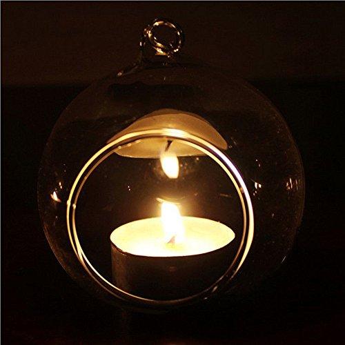 Hängende Pool-tisch (Toasye Gras Kerzenhalter,Kristallglas hängenden Kerzenhalter Candlestick Home Hochzeit Dinner Decor)