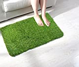 #3: Yellow WeavesArtificial Grass Mat for Balcony Or Doormat, Artificial Grass(1.5 X 2 Feet)