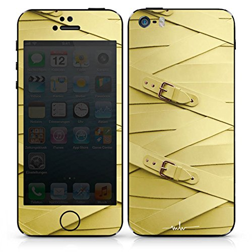 Apple iPhone 4 Case Skin Sticker aus Vinyl-Folie Aufkleber Fashion Mode Leder DesignSkins® glänzend
