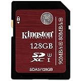 Kingston SDA3/128GB SDHC/SDXC 128GB Ultra High-Speed Class 3 Speicherkarte