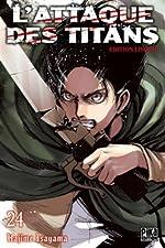 L'Attaque des Titans T24 Edition limitée de Hajime Isayama