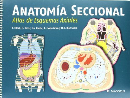 Anatomia seccional - atlas de esquemas axiales y guia de referencia por Aa.Vv.