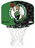 Spalding Mini Basketballkorb Miniboard Boston Celtics, 77-589z - Mini Canasta Boston Celtics