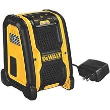 DeWalt DCR006-XJ XR LI-ION - Altavoz Bluetooth XR para funcionamiento con baterías 10.8V, 14.4V y 18V XR Li-Ion