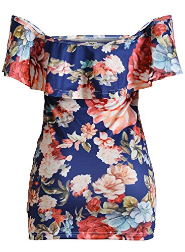 ACHICGIRL Women's Halter Backless Sleeveless Bodycon Solid Mini Dress Orange