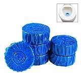 Biback Disinfettante Detergente 10 PZ Blu Rimozione della sporcizia da toilette addetto alle pulizie Detergente
