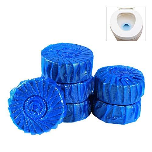 Gorge-buy 10/20pcs Azul Antibacteriano higiénico désinfection-détachage Plus Producto automático Cuenco de baño Cuarto de baño Limpiador Pastillas, Azul, 20 PCS