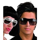 Atzenbrille Partybrille Half Shutter Shades in schwarz UV 400 [Spielzeug]