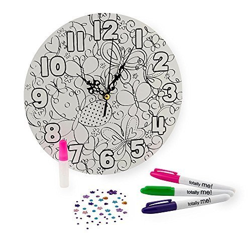 Totally Me! Doodle Clock Kit by Toys R Us