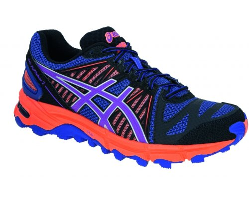 Asics - Performance Gel-fujitrabuco 2, - Donna lila/pink/orange