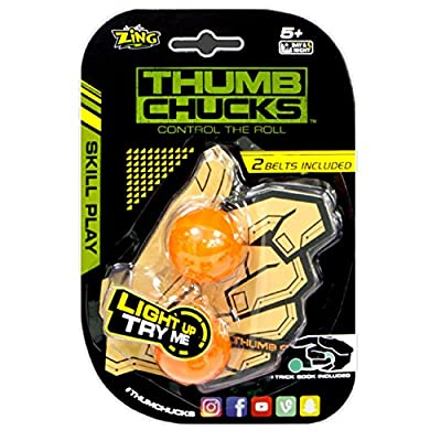 Thumb Chucks ZG888 Detachable LED Pulse Light