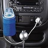 Baby Bottle Warmer, Portable Car Kit Baby Bottle Warmer, Car Cigar Lighter Type Electric Warmer For Baby Bottle(18W,Blue)