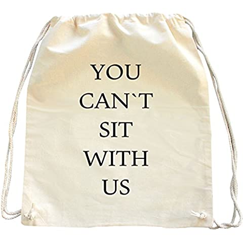 Mister Merchandise Mochila Bolso Saco You can´t sit with us bolsa de la compra