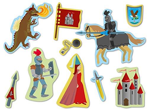 er und Drache Design, mit 30großen Konfetti-Teilen für Thema Party oder Geburtstag (Drache-geburtstags-party)