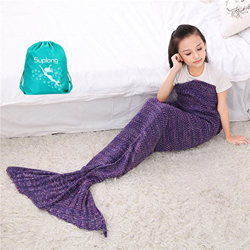 mermaid-blanket-aigumi-all-seasons-mermaid-tail-sleeping-bag-blanket-crochet-craft-warm-sofa-living-
