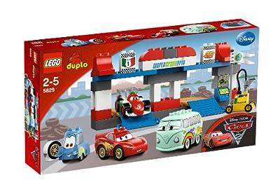 LEGO Duplo Cars - Gran parada en boxes de LEGO
