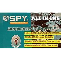 Alarma de Moto SPY All IN One. Compacta y autoalimentada