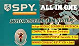Alarma de Moto SPY All IN One. Compacta y autoalimentada