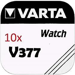 VARTA pILES bOUTON Lot de 10 - V377