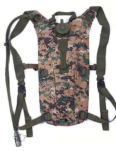 ZQ 10 L Rucksack Camping & Wandern Draußen Multifunktions Schwarz / Braun / Armeegrün / Tarnfarben Nylon Other Black