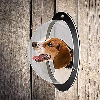 Danigrefinb Hundezaun Fenster transparent Katze Hund Welpen Haus Wand Zaun Fenster einfache Installation Haustier Zubehör Acryl