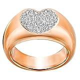Swarovski Damen-Ring Even Wide weiß Gr. 55 (17.5) - 5190066
