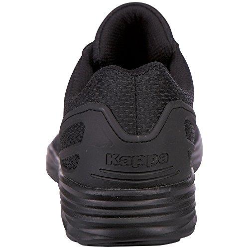 Kappa Trust, Sneakers Basses Mixte Adulte Noir (1111 Black)
