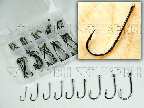 cool-lucky-50-a-gancio-in-acciaio-al-carbonio-esca-filo-spinato-colore-nero-con-gancio-ad-amo-set-di