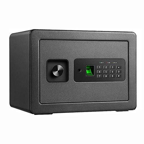 XIN Armario invisible Seguro, Caja de bloqueo de seguridad digital con LED...